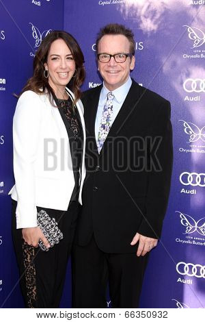 LOS ANGELES - JUN 7:  Tom Arnold at the 13th Annual Chrysalis Butterfly Ball at Private Mandeville Canyon Estate on June 7, 2014 in Los Angeles, CA