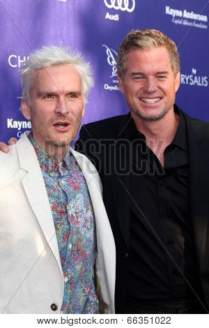 LOS ANGELES - JUN 7:  Balthazar Getty, Erin Dane at the 13th Annual Chrysalis Butterfly Ball at Private Mandeville Canyon Estate on June 7, 2014 in Los Angeles, CA