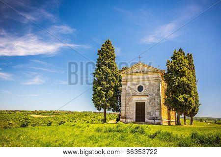 Chapel in Tuscany, Italy