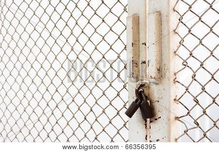 Master Key  Lock Steel Door, Noway Not Exit