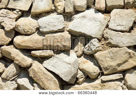 Background of stones wall