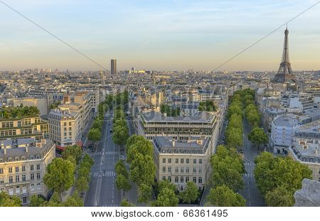 Eiffel Tower And Les Invalides
