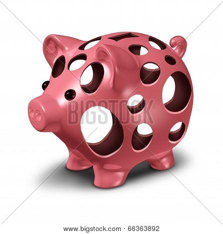 Financial Hole
