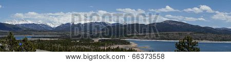 Snow Cap Mountaintops