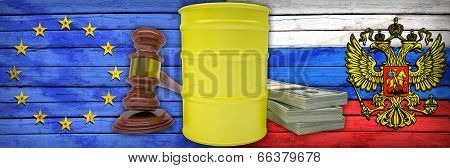 Concept of gas contract. Russia and European Union