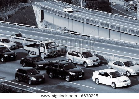 Cars And Traffic Jam