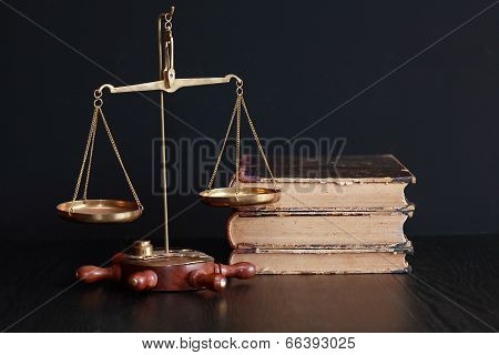 Weight Scale And Books