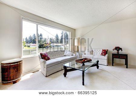 Bright Living Room Inteior