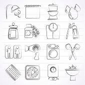 foto of personal hygiene  - Bathroom and Personal Care icons - JPG