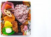picture of lunch box  - Bento  - JPG