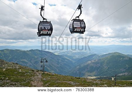 Cable Car In Low Tatras