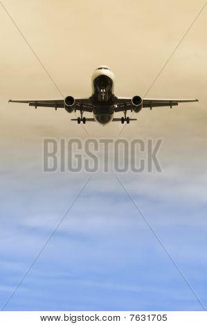 Passagier jet