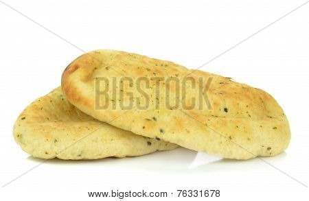 Garlic Coriander Naan Bread