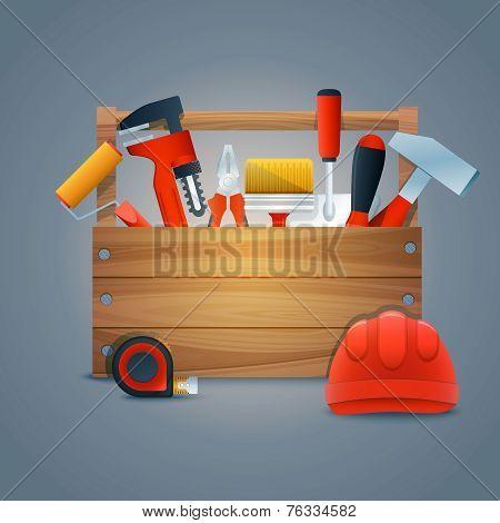 Repair construction toolbox
