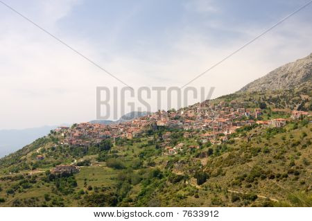 Arachova, Greece, During Springtime