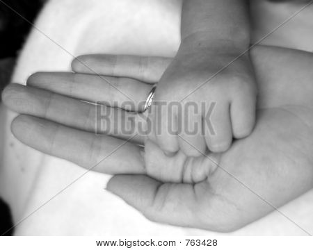 Mom and Baby Hands