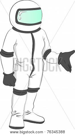 Vector Of Astronaut.