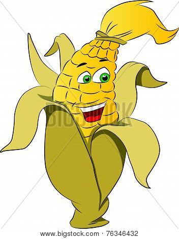 Corn On A Cob, Illustration