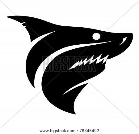 Shark Head Sign