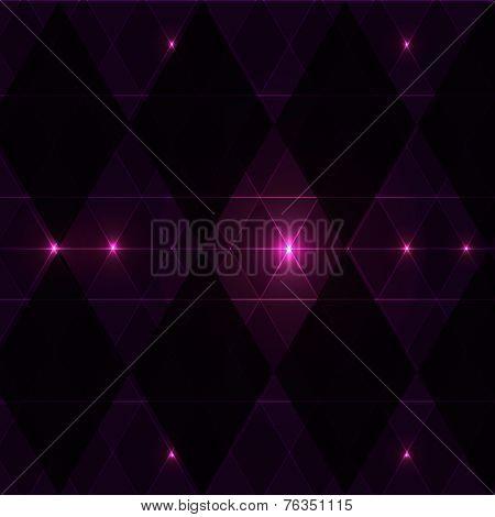 Violet Wink Vintage Pattern Background