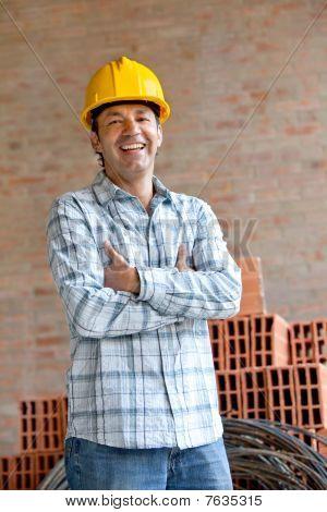 männlich Ingenieur portrait