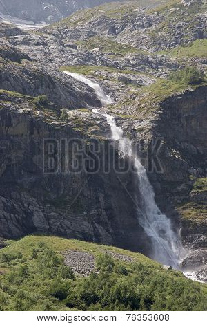 Waterfalls Sofia, Caucasus, Russia.