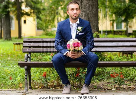 Groom Waiting For Bride