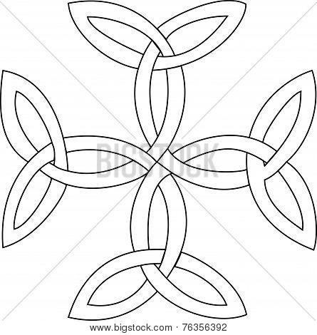Triquetras Cross Symbol