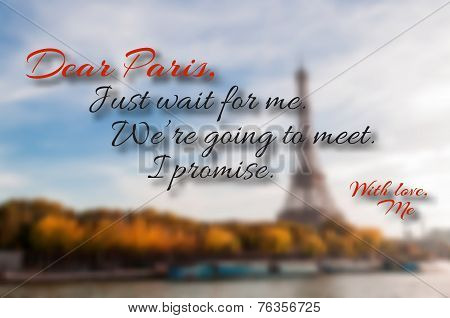 Paris Quote