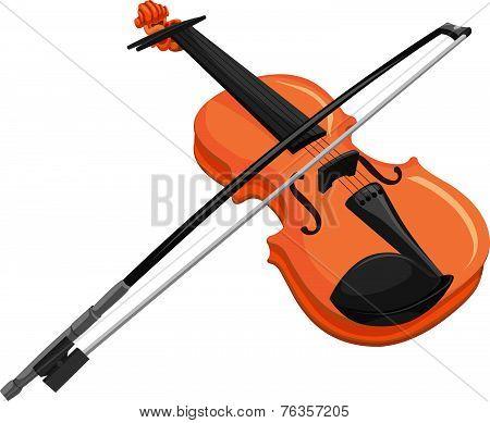 Vector Of Violin.
