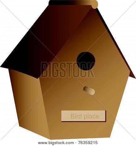Wooden Nest Box