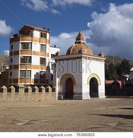 Chapel of the Basilica of Copacabana, Bolivia