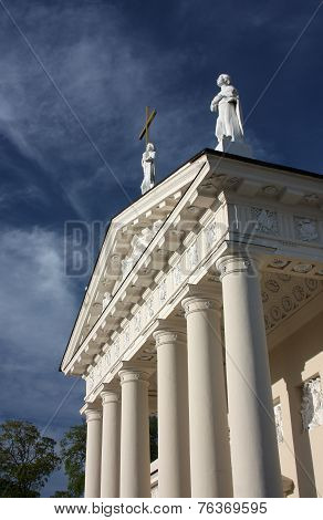 St. Stanislaus Cathedral in Vilnius, Lithuania