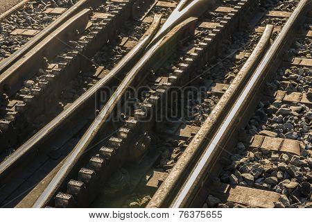 Rack-railway