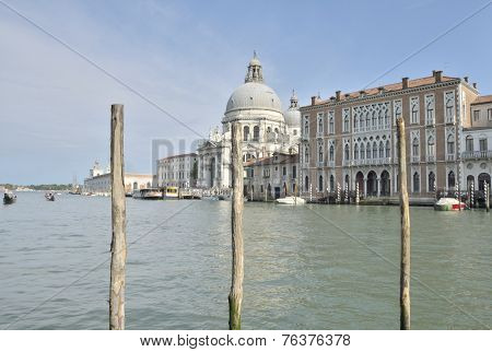 Church In The Grand Canal