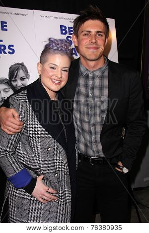 LOS ANGELES - NOV 16:  Kelly Osbourne, Chris Lowell at the