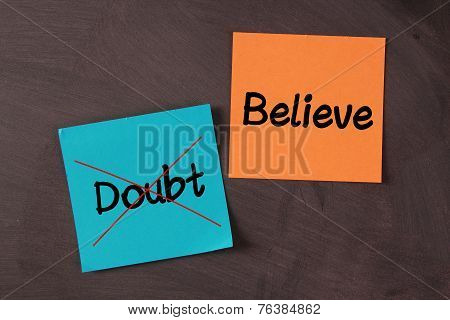 Believe, No Doubt
