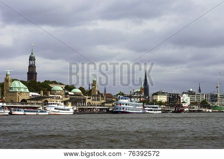 Hamburg harbor