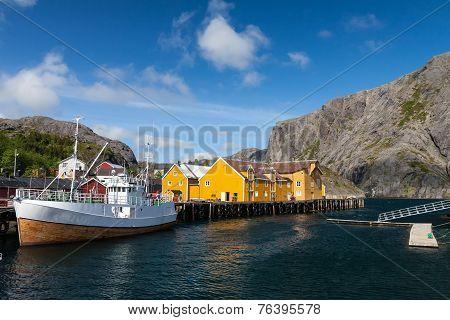 Picturesque Village  Nusfjord