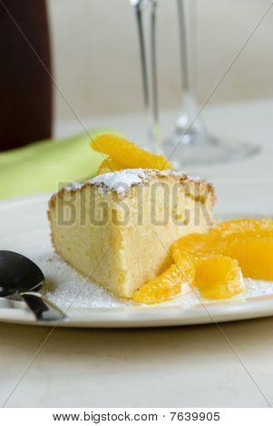 Vanilla sponge