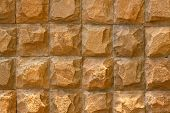 picture of wall-stone  - Stone brick wall - JPG