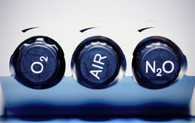pic of gases  - Air oxygen nitrous oxide  - JPG