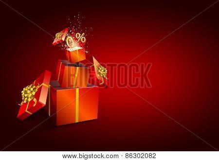 Present box inside present box.  Zero percent.