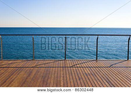 Empty Ocean Viewpoint