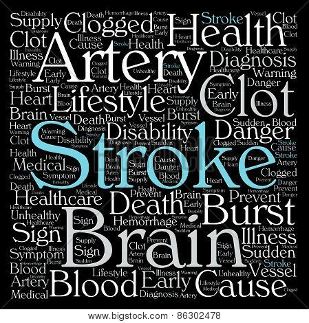 Stroke Word Cloud