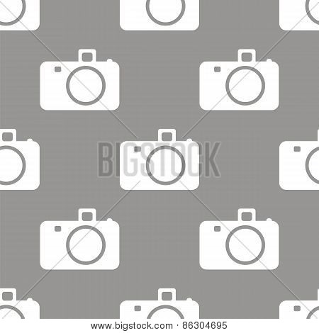 Camera seamless pattern