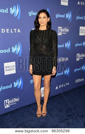 LOS ANGELES - MAR 21:  Jenna Dewan-Tatum at the 26th Annual GLAAD Media Awards at the Beverly Hilton Hotel on March 21, 2015 in Beverly Hills, CA