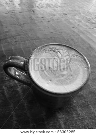 Black and White Designer Coffee