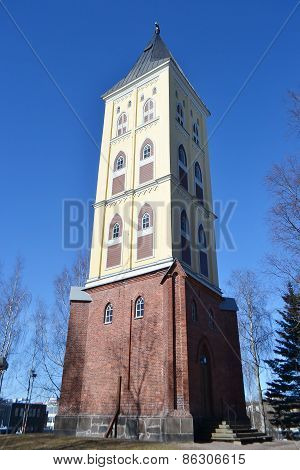 The Tower Of The Lappee Church.