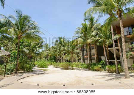 Phuket, Thailand - August 05, 2013: Garden Of Renaissance Resort